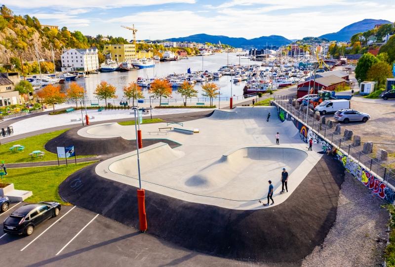 Bilde av Byparken, Ålesund.